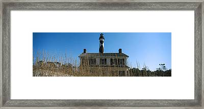 Low Angle View Of Cape Lookout Framed Print by Panoramic Images