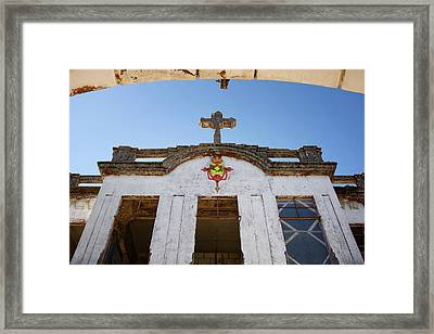 Low Angle View Of Haunted Diplomat Framed Print