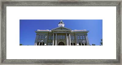 Low Angle View Of Missoula County Framed Print