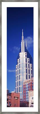 Low Angle View Of The Bellsouth Framed Print by Panoramic Images