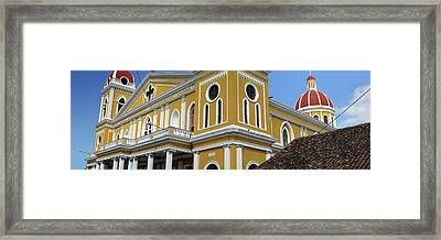 Low Angle View Of The Cathedral Framed Print