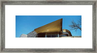 Low Angle View Of The Hunter Museum Framed Print by Panoramic Images