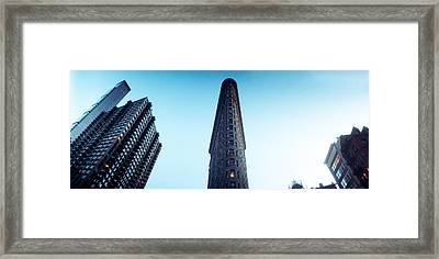 Low Angle View Of The Skyscrapers Framed Print by Panoramic Images