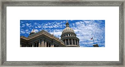 Low Angle View Of The Texas State Framed Print by Panoramic Images
