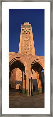 Low Angle View Of The Tower Framed Print by Panoramic Images