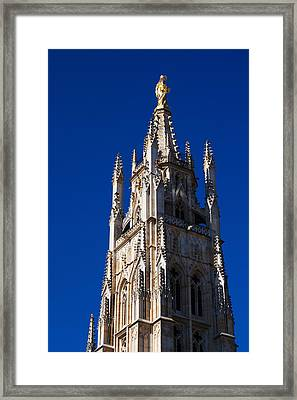 Low Angle View Of Tour Pey-berland Framed Print