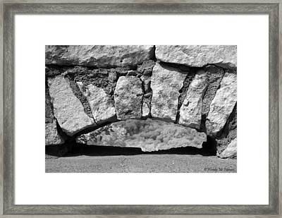 Low Arch Framed Print by Wendy Hansen-Penman