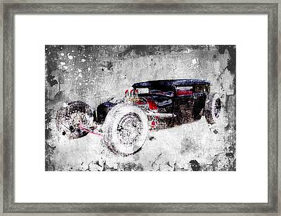 Low Boy Framed Print