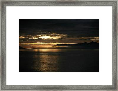 Low Cloud Framed Print by Lee Stickels