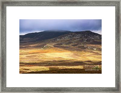 Low Cloud Over Highlands Framed Print by Jane Rix