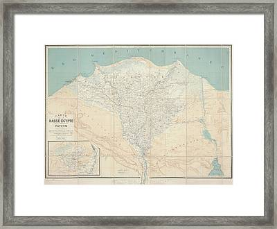Low-egypt And Fayoum Framed Print