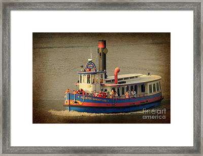 Low Ferry Framed Print