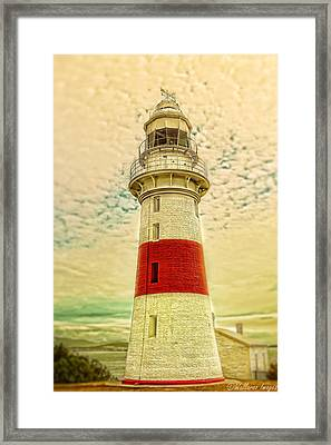 Low Head Lighthouse Framed Print by Wallaroo Images