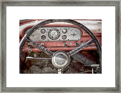 Low Mileage Mercury Framed Print