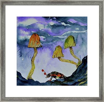 Low Places Framed Print by Beverley Harper Tinsley