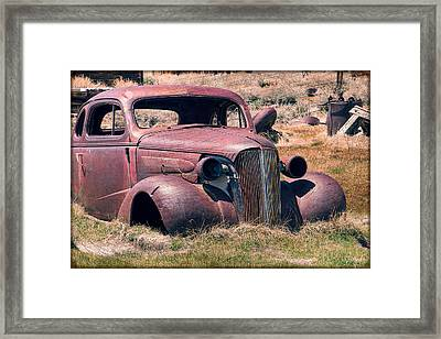 Framed Print featuring the photograph Low Rider by Steven Bateson
