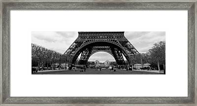 Low Section View Of A Tower, Eiffel Framed Print