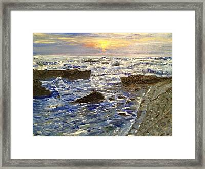 I See The Light Framed Print by Belinda Low