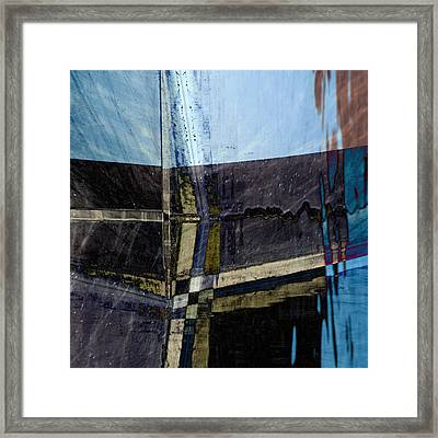 Low Tide 4 Framed Print by Carol Leigh