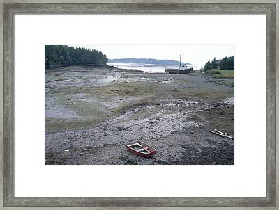 Low Tide, Campobello Framed Print by Andrew J. Martinez