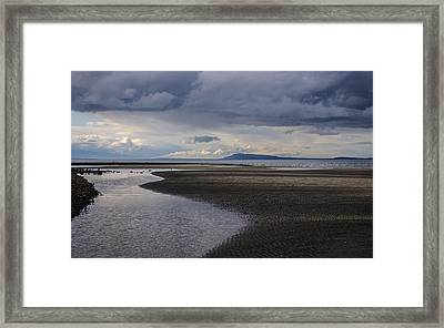 Tidal Design Framed Print by Roxy Hurtubise
