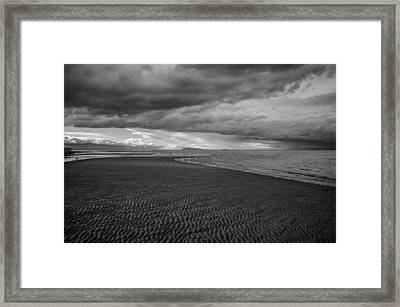 Low Tide Framed Print by Roxy Hurtubise