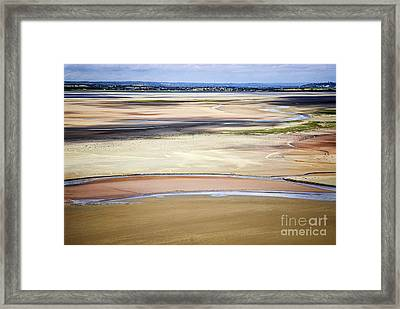 Low Tide In Brittany Framed Print by Elena Elisseeva