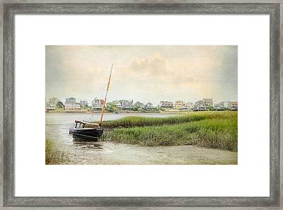 Low Tide On The Basin Framed Print