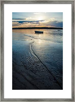 Low Tide Parking Framed Print by Kristopher Schoenleber