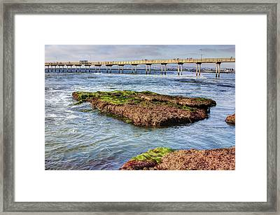 Low Tide Framed Print by Photographic Art by Russel Ray Photos