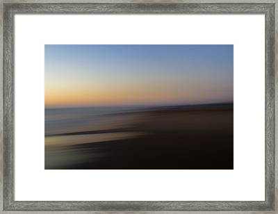 Low Tide Framed Print by Steve Belovarich