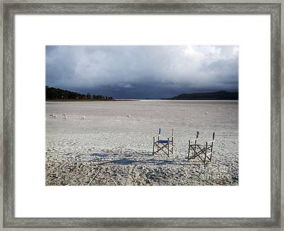Framed Print featuring the photograph Low Tide Wonder by Sandro Rossi