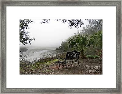 Lowcountry Fog Framed Print