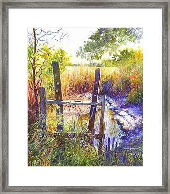 Lowcountry Legacy Framed Print by Alice Grimsley