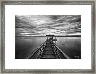 Lowcountry Long Dock Framed Print