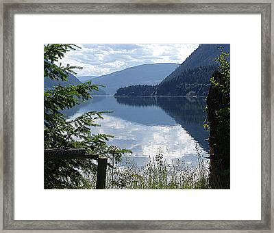 Lower Arrow Lake Framed Print