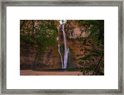Lower Calf Falls Framed Print by Michael J Bauer