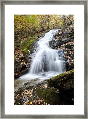 Lower Crabtree Falls Framed Print by David Cote