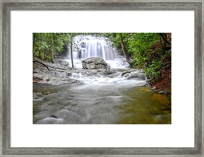 Lower Disharoon Falls Framed Print by Bob Jackson