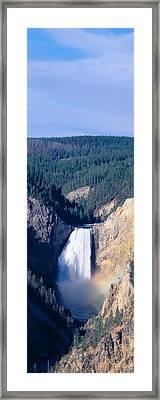 Lower Falls At Grand Canyon Framed Print