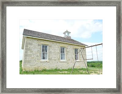 Lower Fox Creek School No.4 Framed Print by Christine Belt