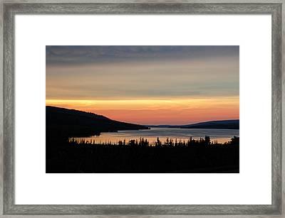 Lower Lake St. Mary Framed Print