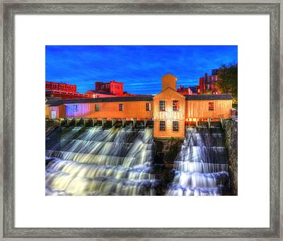 Lower Locks 004 Framed Print