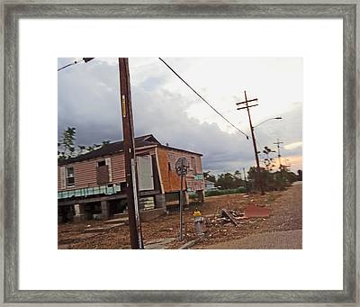 Lower Ninth Ward New Orleans 2012 Framed Print