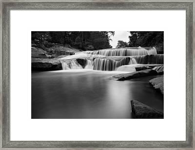 Lower Reedy River Falls. Framed Print