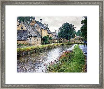 Lower Slaughter Framed Print