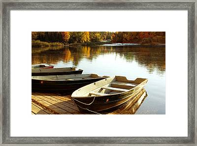 Lower Tahquamenon Falls Framed Print