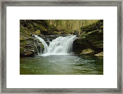 Lower Twin Falls #1 Framed Print