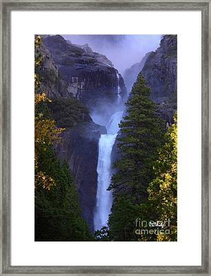 Lower Yosemite Falls Framed Print