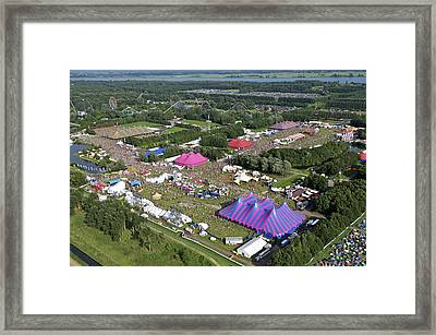 Lowlands Festival, Biddinghuizen Framed Print